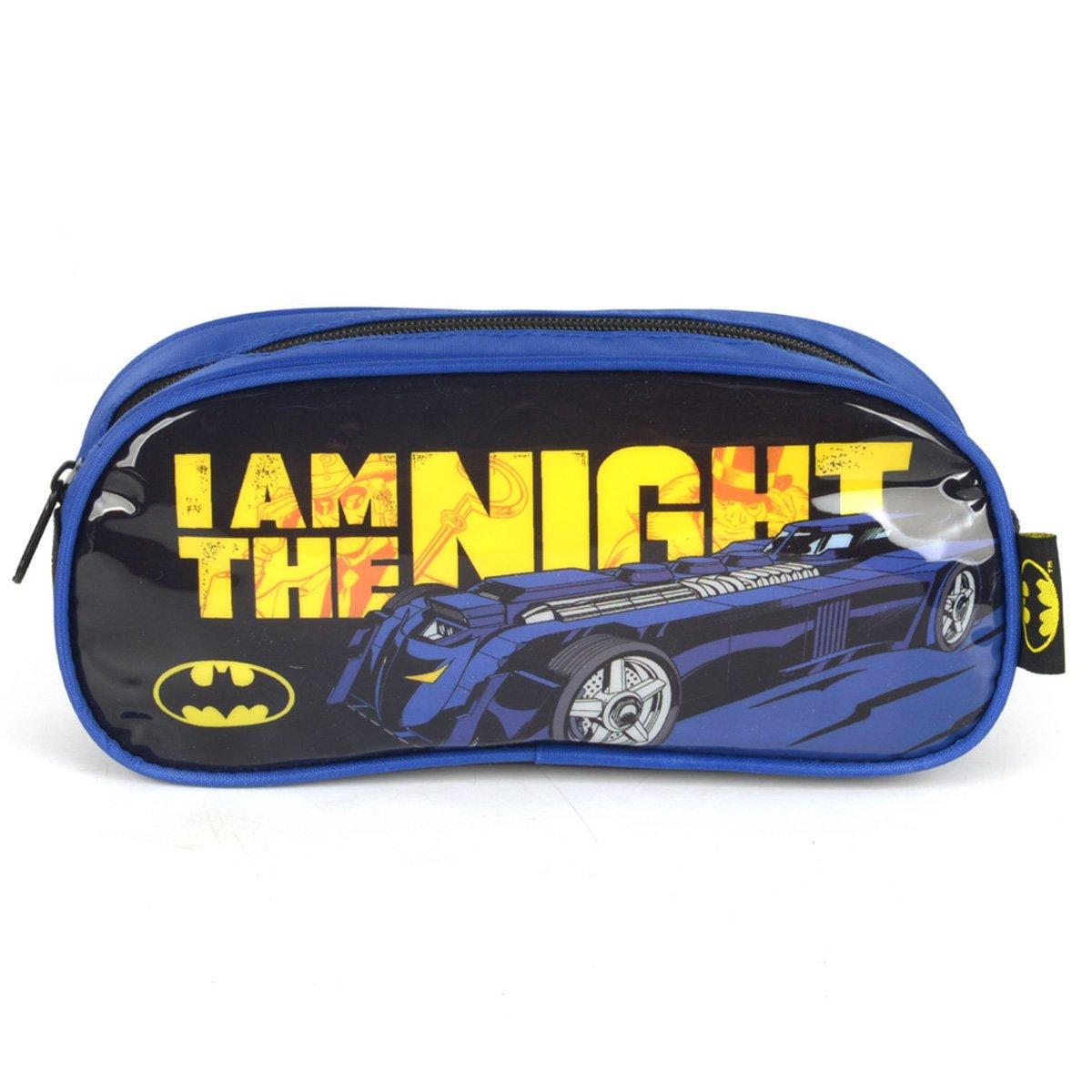 Estojo Escolar Luxcel Batman Masculino