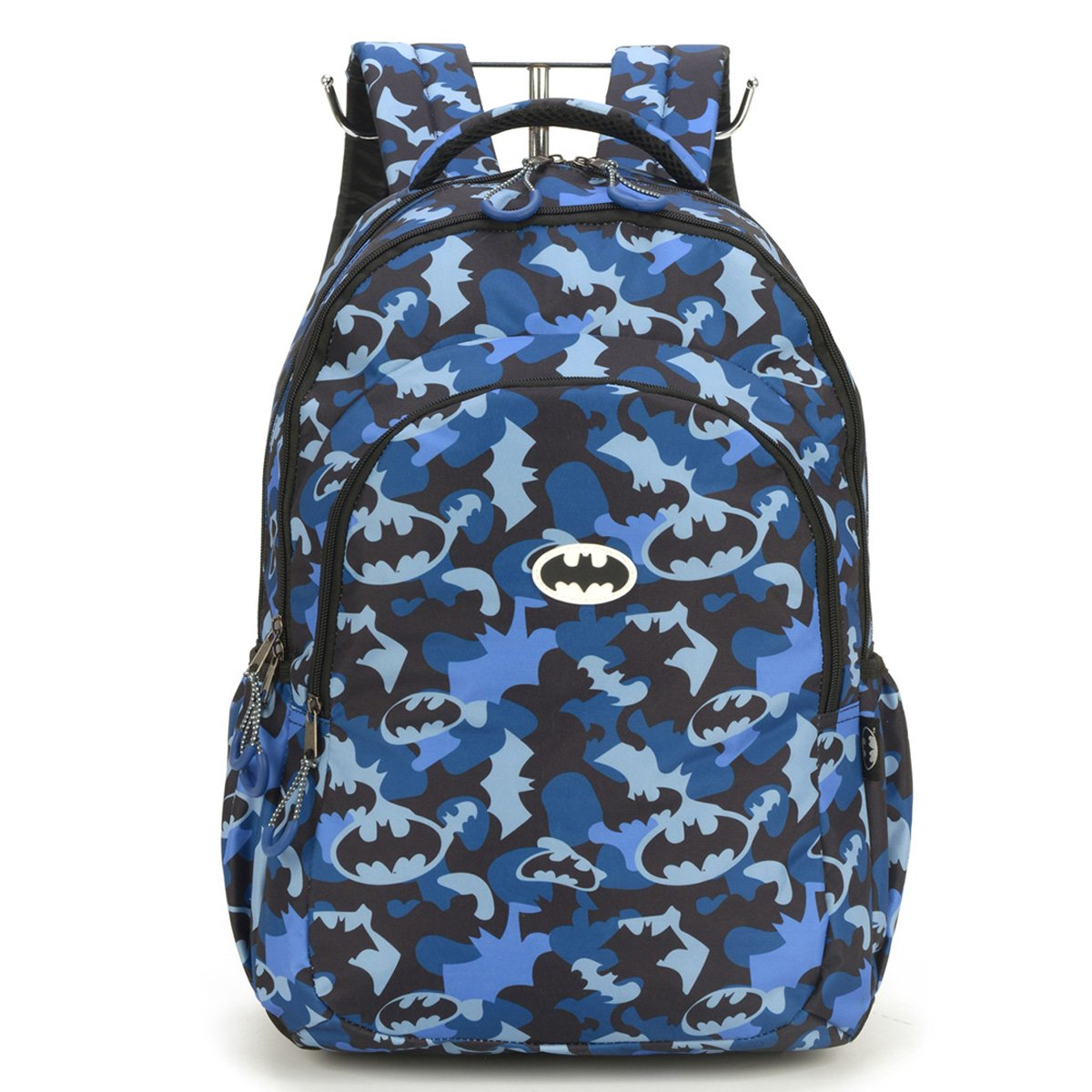 """Mochila Escolar Luxcel Batman Porta Notebook 18"""" Masculina"""