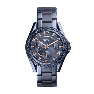 Relógio Fossil Feminino Riley - ES4294 4AN ES4294 4AN 5aa9516d80