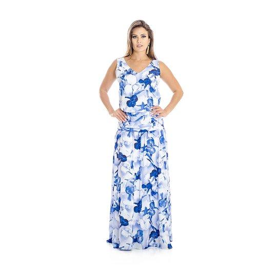 04516ca63f4c Vestido Longo Orquídeas Ana Hickmann | Zattini