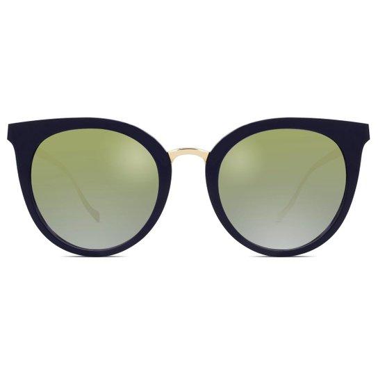 479101961 Óculos de Sol Ana Hickmann Feminino - Azul | Zattini