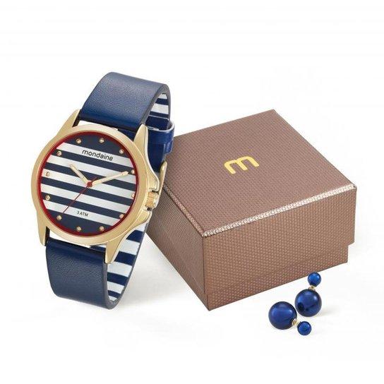 001bd48d09d Relógio Mondaine 76687lpmvdh2ky Feminino - Azul - Compre Agora