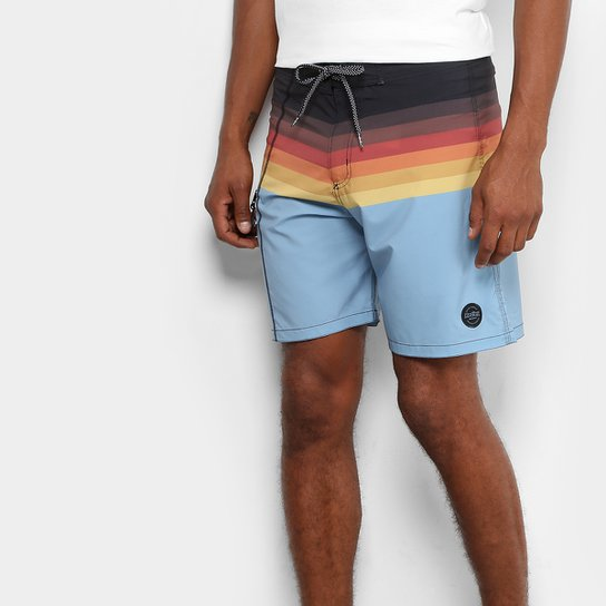 e746a6888 Bermuda D  Água Redley Surf Listras Vintage Bolso Masculina - Compre ...