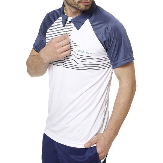 600613206006b Polo Esportiva Manga Curta Masculina Local - Azul - Compre Agora ...