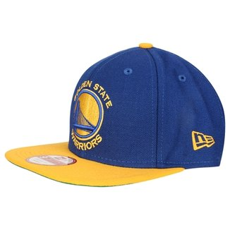 Boné New Era 950 Of Sn NBA Two Tone Golden State Warriors 35dc418aa92