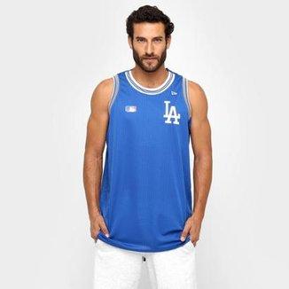 Camiseta Regata New Era MLB Los Angeles Dodgers e961ab0a2bb3d