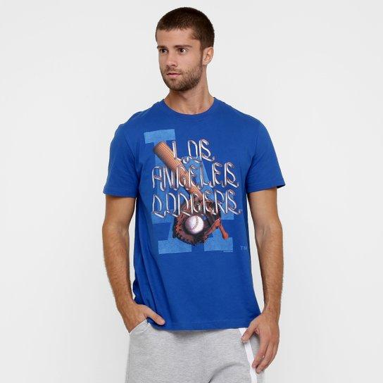 4e73fe40d Camiseta New Era Baseball Game 18 Los Angeles Dodgers - Compre Agora ...