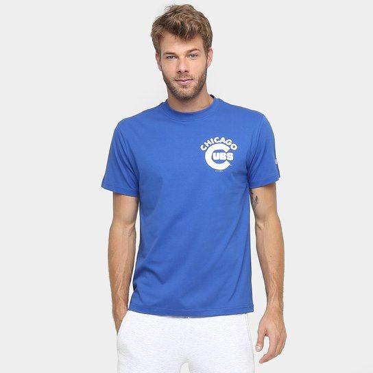 4201d76eb6 Camiseta New Era MLB Nac Flag Usa 6 Chicago Cubs - Compre Agora ...