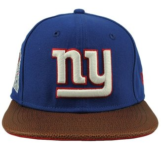 Boné New Era 950 Super Bowl Champion Xxi New York Giants 8bb94a883f3