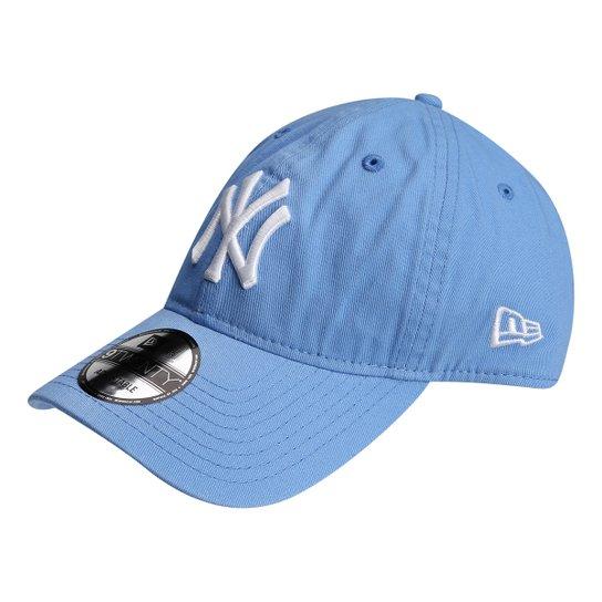 03c754537 Boné New Era NFL New York Yankees Aba Curva 920 St Pastels Masculino - Azul
