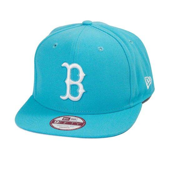 Boné New Era Snapback Original Fit Boston Red Sox - Compre Agora ... c7473d04bd9