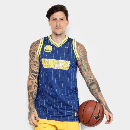 c20780bc4 Regata NBA Golden State Warriors New Era Game Masculina - Compre ...