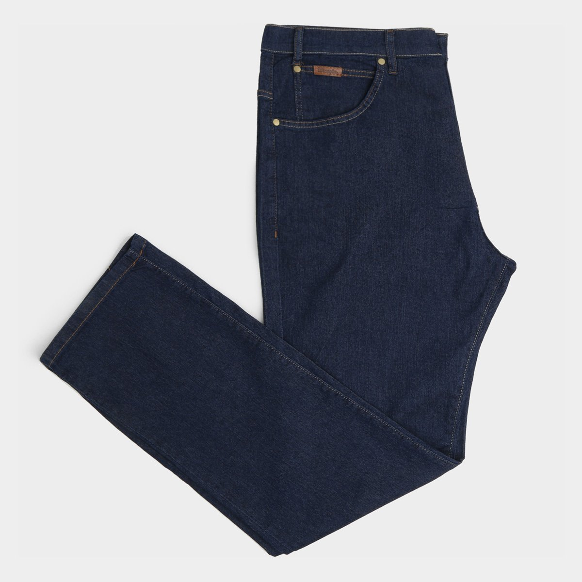 Calça Jeans Slim Plus Size Wrangler Masculina