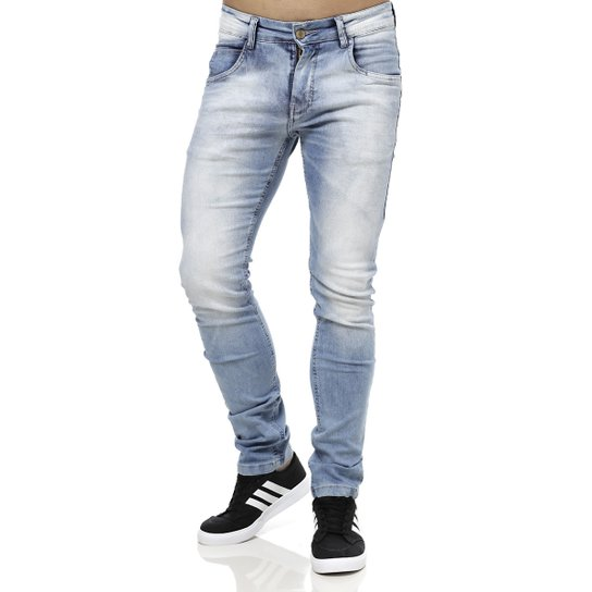 Calça Jeans Masculina Rock   Soda Azul - Compre Agora  126579a8cf5e0