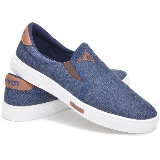 741a3013f6 Tênis Polo Joy Slip On Iate Masculino - Azul - Compre Agora
