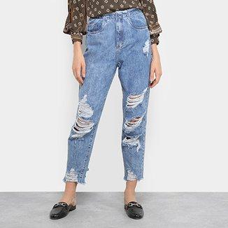 3affe231d Calças Jeans Lez a Lez Boyfriend Feminino