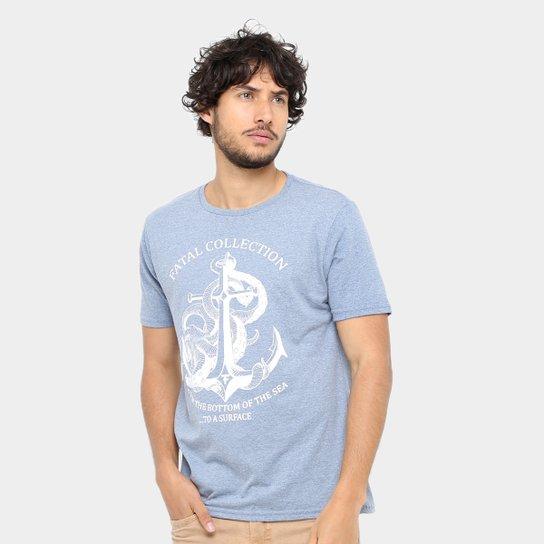 Camiseta Fatal Navy Masculina - Compre Agora  676890d7ee9
