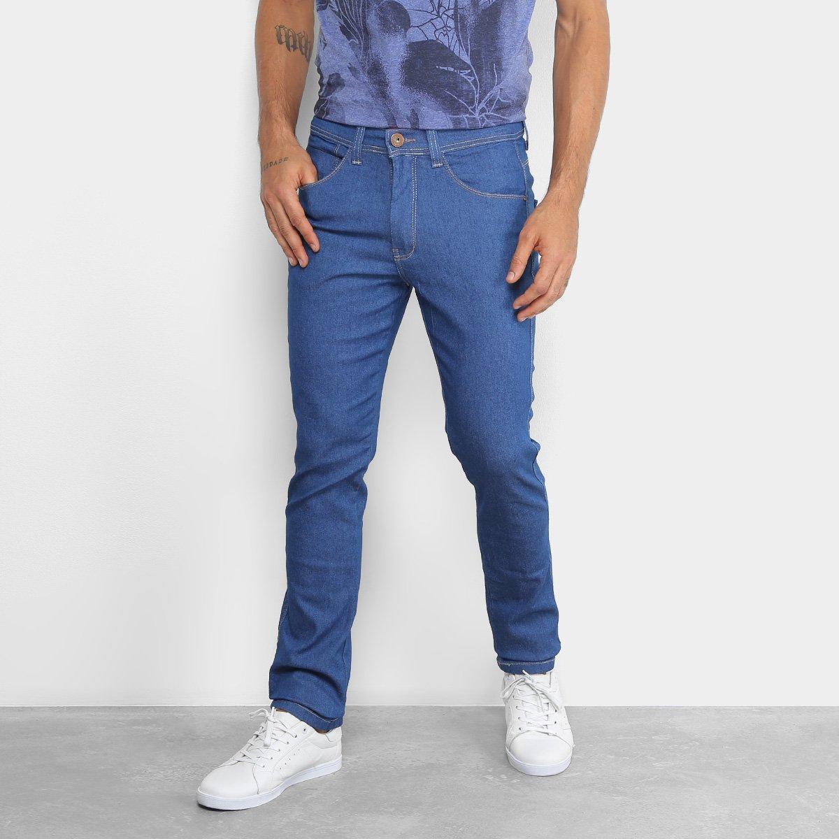 32e05400f Calça Jeans Skinny Fatal Clássica Masculina