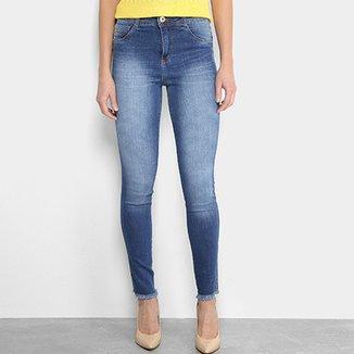 1ac91005cd Calça Jeans Cigarrete Biotipo Cintura Média Feminina