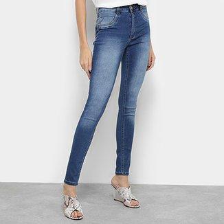 64dd63d84 Calça Jeans Skinny Biotipo Melissa Cintura Média Feminina