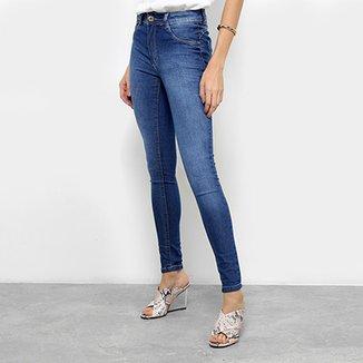 Calça Jeans Skinny Biotipo Melissa Cintura Média Feminina 2d3d63d6811