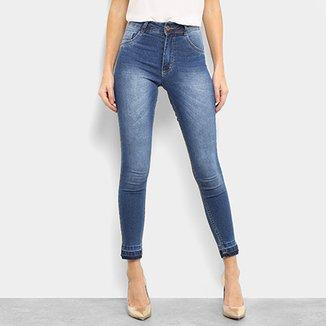 064fe14c02f Calça Jeans Skinny Melissa Cintura Alta Feminina