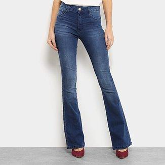 069b2e0c0 Calça Jeans Flare Biotipo Melissa Soft Cintura Média Feminina