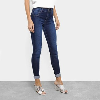 ddcc9894c0 Calça Jeans Skinny Biotipo Melissa Cintura Média Feminina
