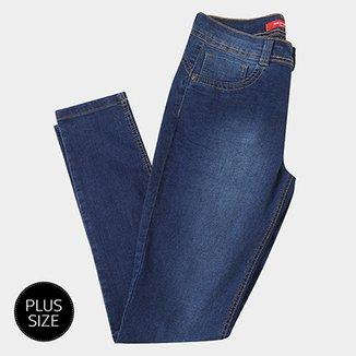 4bab7f68c Calça Jeans Skinny Biotipo Aline Plus Size Feminina