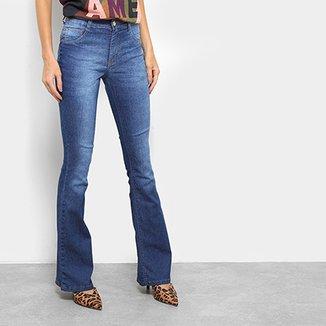 10a739697 Calça Jeans Flare Biotipo Melissa Cintura Média Feminina