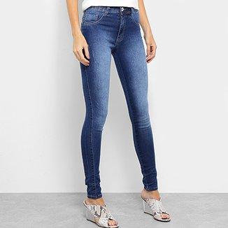 4e7d809b2 Calça Jeans Biotipo Melissa Skinny Puídos Confort Feminina