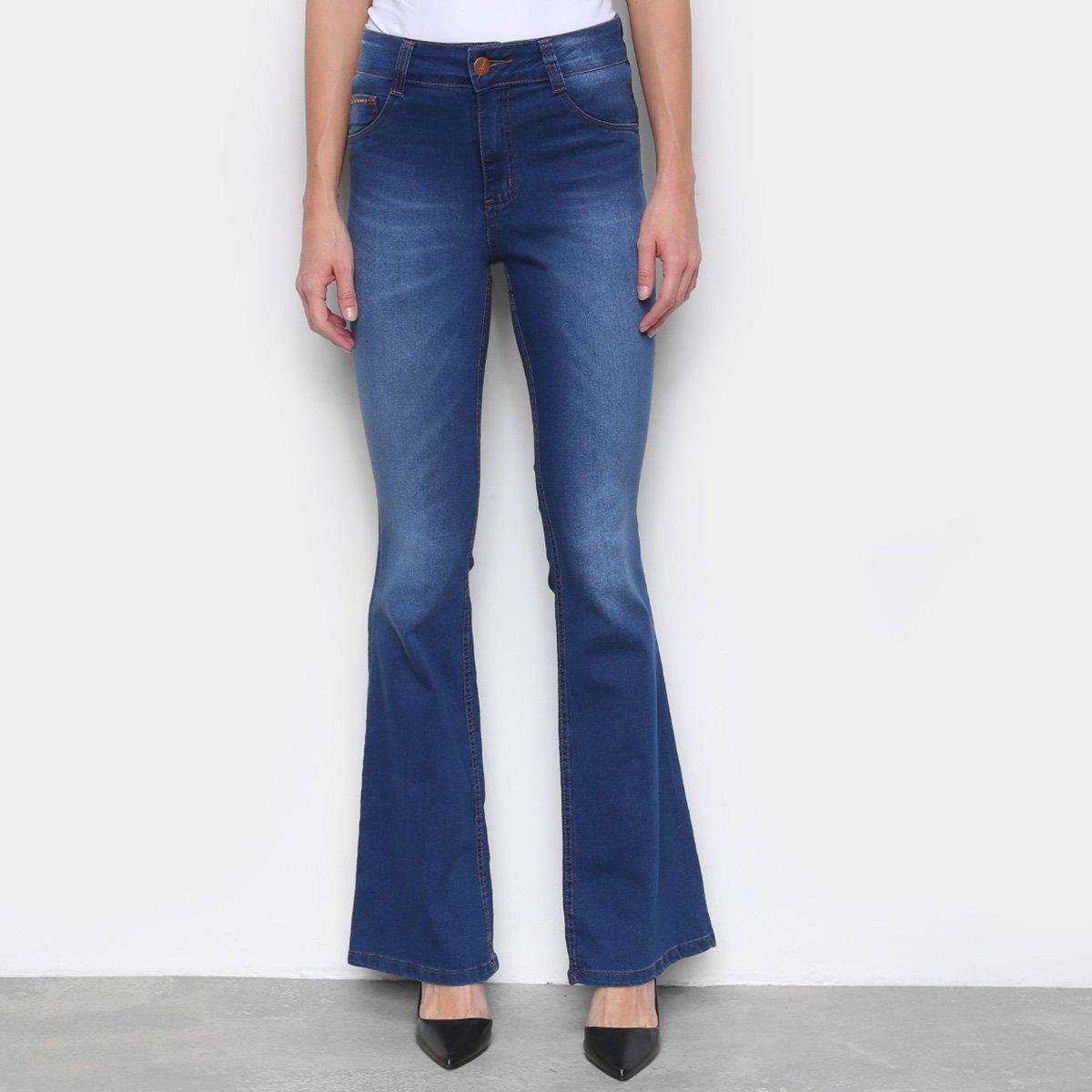 Calça Jeans Flare Biotipo Feminina
