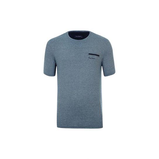 7e2dac4f9f Camiseta Pierre Cardin Pocket Índigo - Azul - Compre Agora