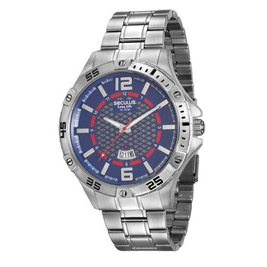 b2a0fa7faee Relógio Seculus Long Life 20457G0SVNA1 Masculino - Compre Agora ...