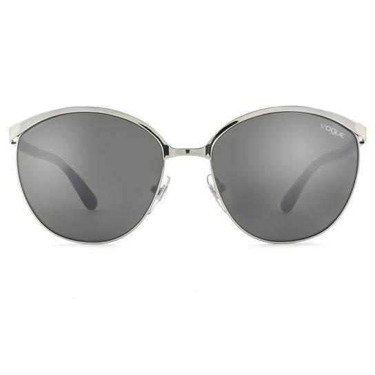 Óculos de Sol Vogue Light and Shine VO4010S 50056G-57 Feminino - Azul 6f779c7653