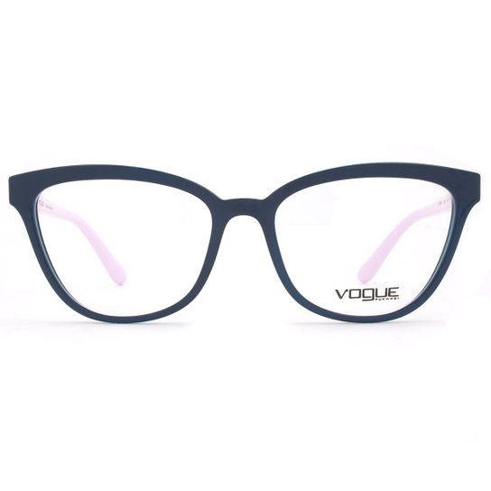 2c1cf5606 Óculos de Grau Vogue Light & Shine VO Feminino - Azul | Zattini