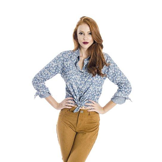 Camisa Handbook Estampa Floral - Compre Agora  8fe5230ad23
