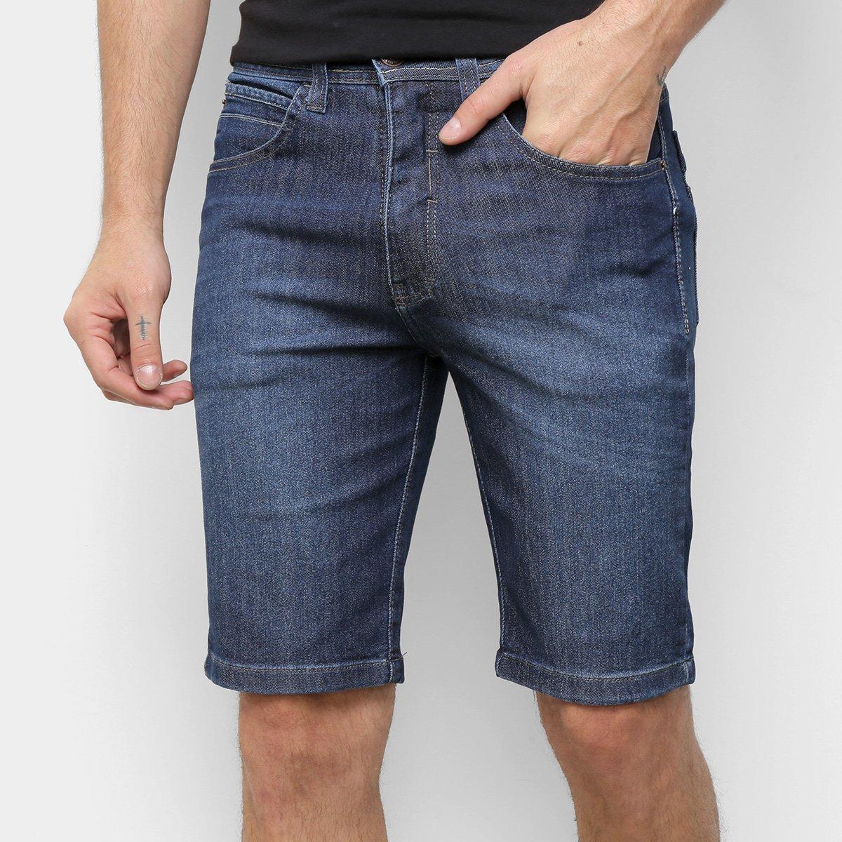 Bermuda Jeans Onbongo Basic Masculina