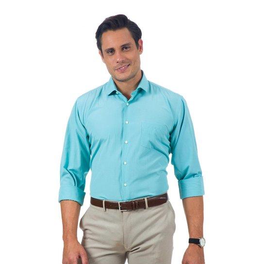 Camisa Social Lisa Masculino - Compre Agora  ad52c15654eb9