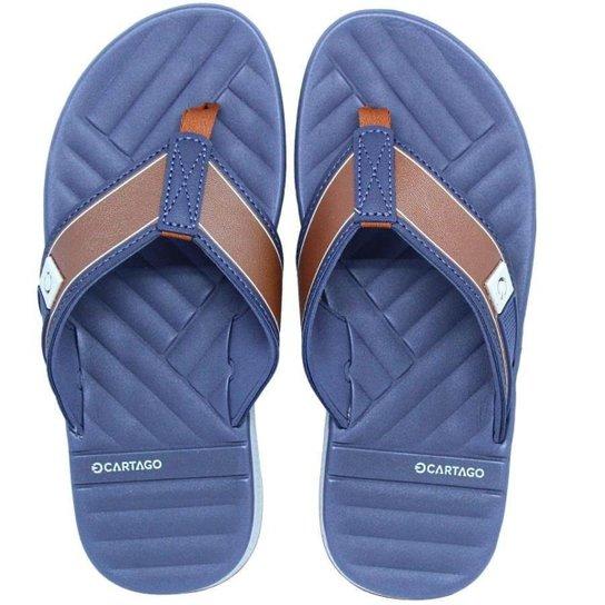 405185ff0 Chinelo Cartago Napoles II Masculino - Azul | Zattini