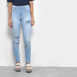 e1a7e3582a Calça Jeans Coca-Cola Super High Skinny Feminina