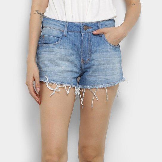 c8de2bb3a Short Jeans Coca-Cola Estonado Cintura Média Feminino - Compre Agora ...