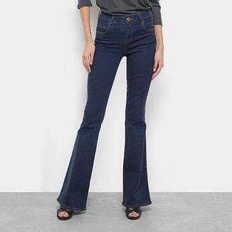 Calça Jeans Flare Coca-Cola Feminina c96471632dc