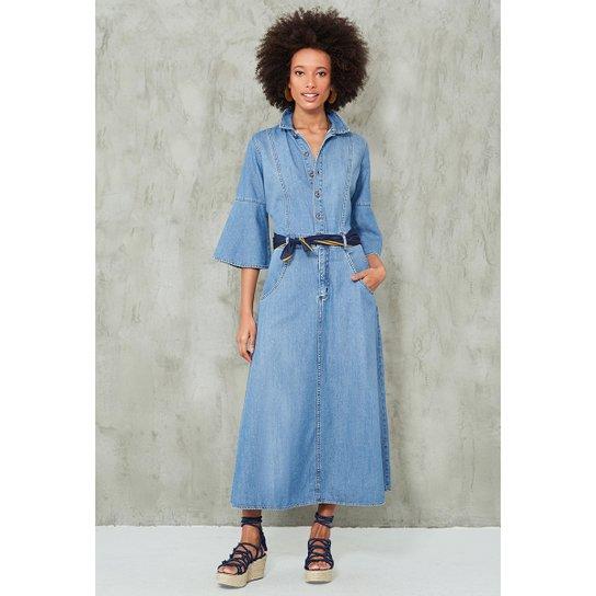 f9192d205 Vestido Jeans Vintage - Compre Agora