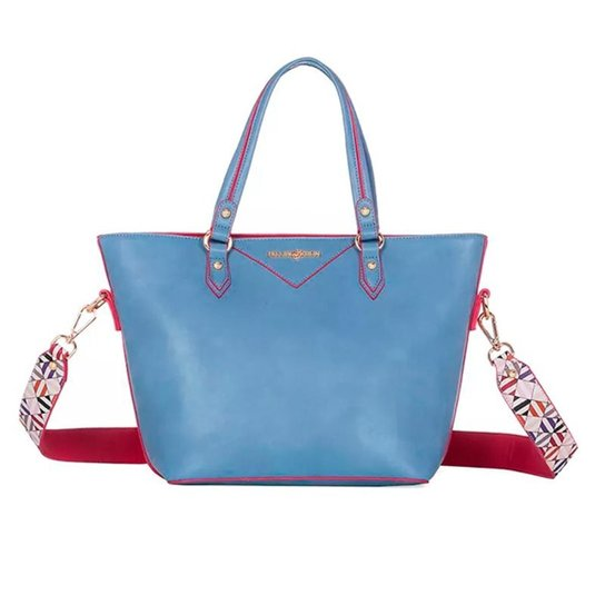 adcb56ad6 Bolsa de Ombro Fellipe Krein Feminino - Azul - Compre Agora | Zattini