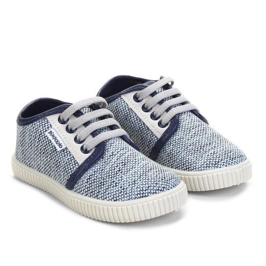 3510f39ca71 Tênis Infantil Pimpolho Bicolor Masculino - Azul - Compre Agora ...