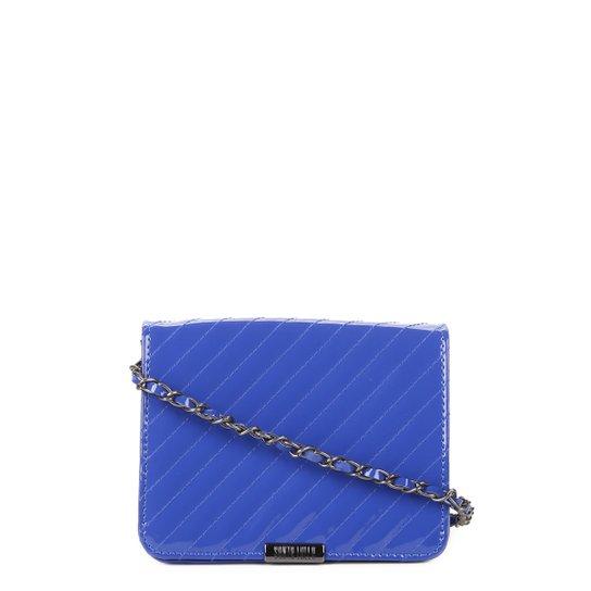 5dd332bc8 Bolsa Santa Lolla Mini Bag Verniz Feminina - Azul - Compre Agora ...