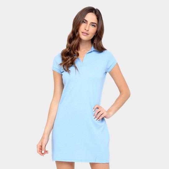 2b0e6159bd Vestido Tig s Curto Piquet Gola Polo Feminina - Compre Agora