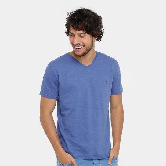 2f873da85f Camiseta Tigs Gola V Flamê Básica Masculina - Compre Agora