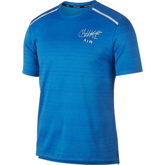 Camiseta Nike Dry Miler Gx Hbr Masculina - Azul Claro - Compre Agora ... 3aa331c4f492f